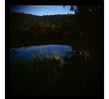 Holga madness......little clouds at dawn in daniland Photographic Print
