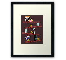 Carrot Kong Framed Print