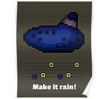 Pixel Ocarina : Make it rain! Poster