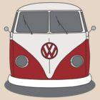 VW Splitwindow Kombi Front by frenzix