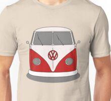 VW Splitwindow Kombi Front Unisex T-Shirt