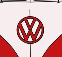 VW Splitwindow Kombi Front Sticker