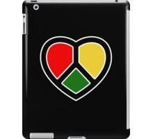 Peace Heart. Love. iPad Case/Skin