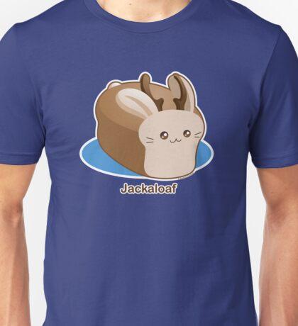 Cute Pun: Jackalope Bread Loaf Unisex T-Shirt