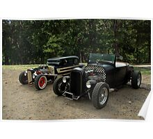1932 Ford Hot Rods Poster