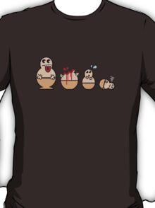 Cannibal Babushka Dolls T-Shirt