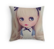Alice Too Throw Pillow