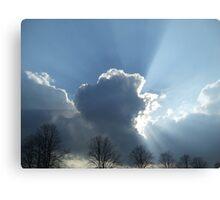 cloudburst Canvas Print