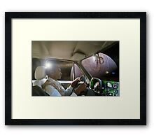 Aslam Drives Past Europa Framed Print