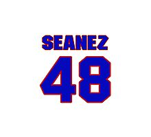 Hey, you must be a big fan of Seanez, if not pls search for your favourite players jersey to wear it proudly.  Photographic Print