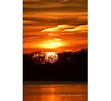 Areskonk Creek Sunset | Center Moriches, New York  Photographic Print