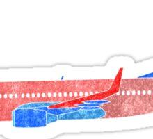 Boeing 737 - Red White & Blue Sticker