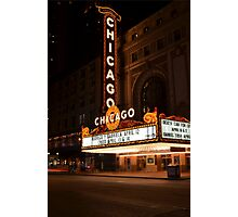 Chicago Theatre Photographic Print