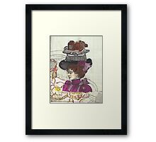 SteamPunk Tempest In A TeaCup Framed Print