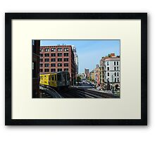 Chicago Subway Framed Print