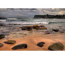 Sydney Beaches - The HDR Series, Avalon Beach, Sydney Australia Photographic Print