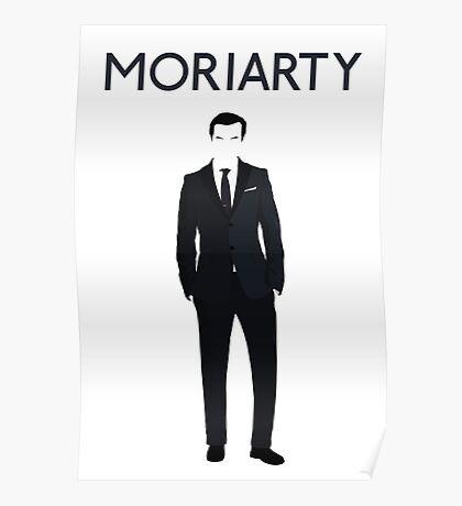 Moriarty; sherlock Poster