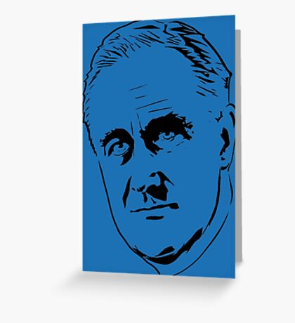 FDR-LARGE Greeting Card
