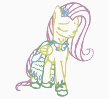 Shy Shy Fluttershy Kids Clothes