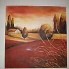 Burnt Umbria by Lynn Brown