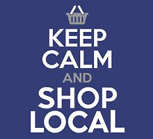 KEEP CALM and SHOP LOCAL Tank Top