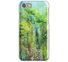 Edge of Eden, oil on canvas iPhone Case/Skin
