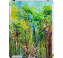 Edge of Eden, oil on canvas iPad Case/Skin