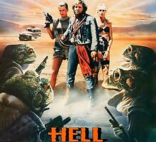 Hell Comes To Frogtown Poster Artwork by crampedmisfit90