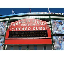 Wrigley Field Chicago Photographic Print
