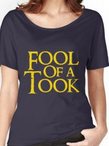 Tookish Fools Golden Women's Relaxed Fit T-Shirt