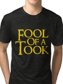 Tookish Fools Golden Tri-blend T-Shirt