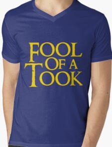 Tookish Fools Golden Mens V-Neck T-Shirt