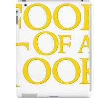 Tookish Fools Golden iPad Case/Skin
