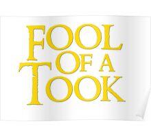 Tookish Fools Golden Poster