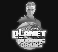 Doctor Who - Planet of the Pudding Brains Unisex T-Shirt