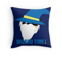WIZARD TIME! Throw Pillow