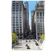 Chicago Street Poster
