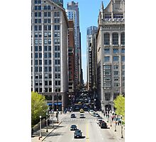 Chicago Street Photographic Print