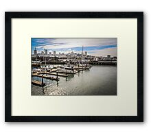 San Francisco View from the Waterfront Framed Print