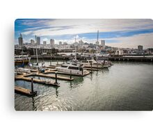 San Francisco View from the Waterfront Canvas Print