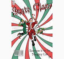 Evil Santa Claus Comic Cover Unisex T-Shirt