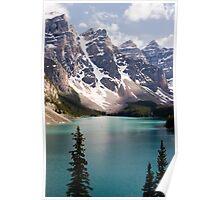 Moraine Lake Poster