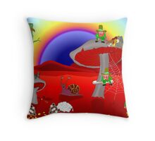 We could be next on the menu! Throw Pillow