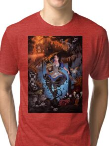 Alice In Wonderland  Tri-blend T-Shirt
