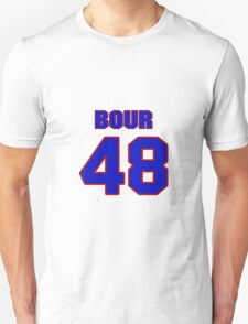 National baseball player Justin Bour jersey 48 T-Shirt
