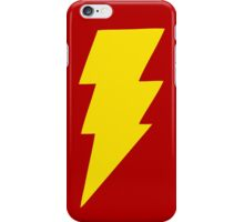 Yellow bolt. iPhone Case/Skin