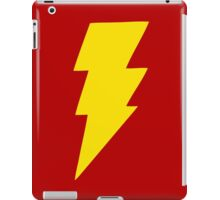 Yellow bolt. iPad Case/Skin