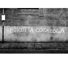 BOICOT Photographic Print