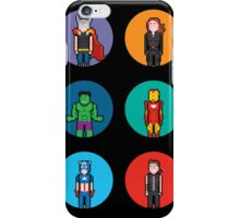 8Bit The Avengers iPhone Case/Skin