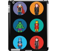 8Bit The Avengers iPad Case/Skin